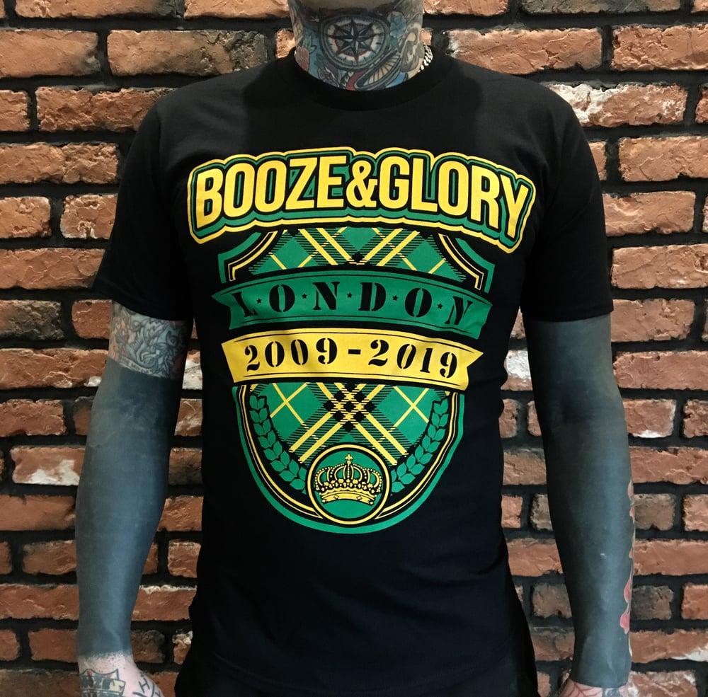 Image of Booze & Glory Tartan Tshirt