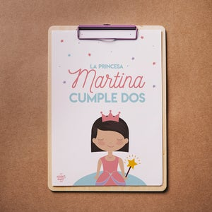Image of Party Kit Princesa Personalizado Impreso