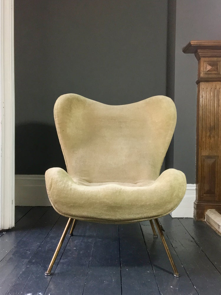 "Image of Original ""Madame"" Chair by Fritz Neth for Correcta, Germany, 1950s"