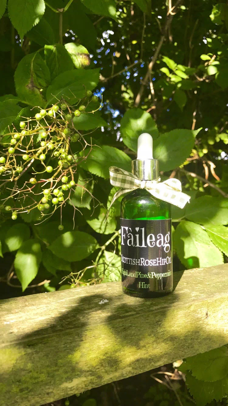 Image of Fàileag RoseHipOil - Highland Pine & Peppermint Hint