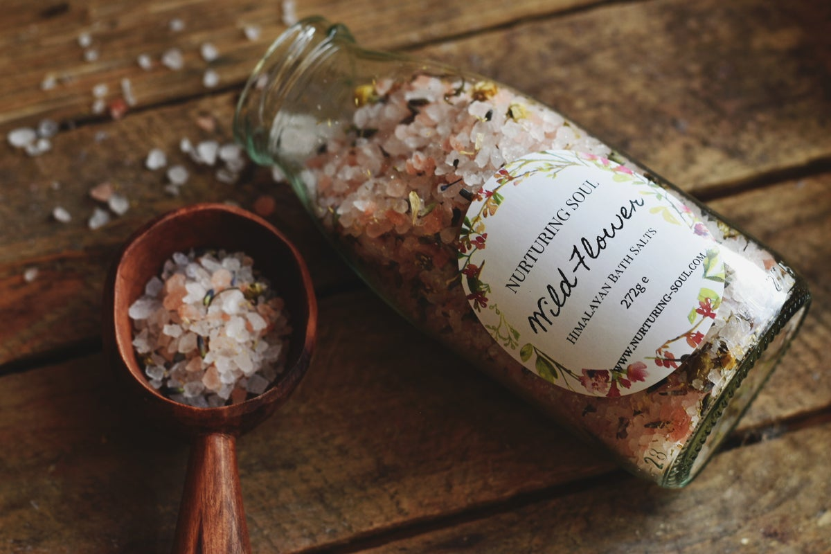 Image of Himalayan Botanical Bath Salts - Wild Flower