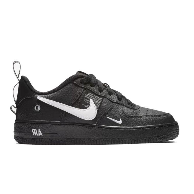 Image of Nike Air Force 1 Utility Black (Grade School / Juniors)