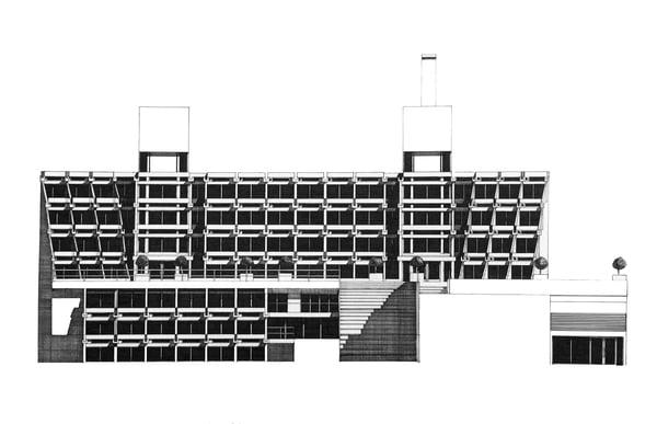 Image of New Court. Christ's College Cambridge (ORIGINAL)