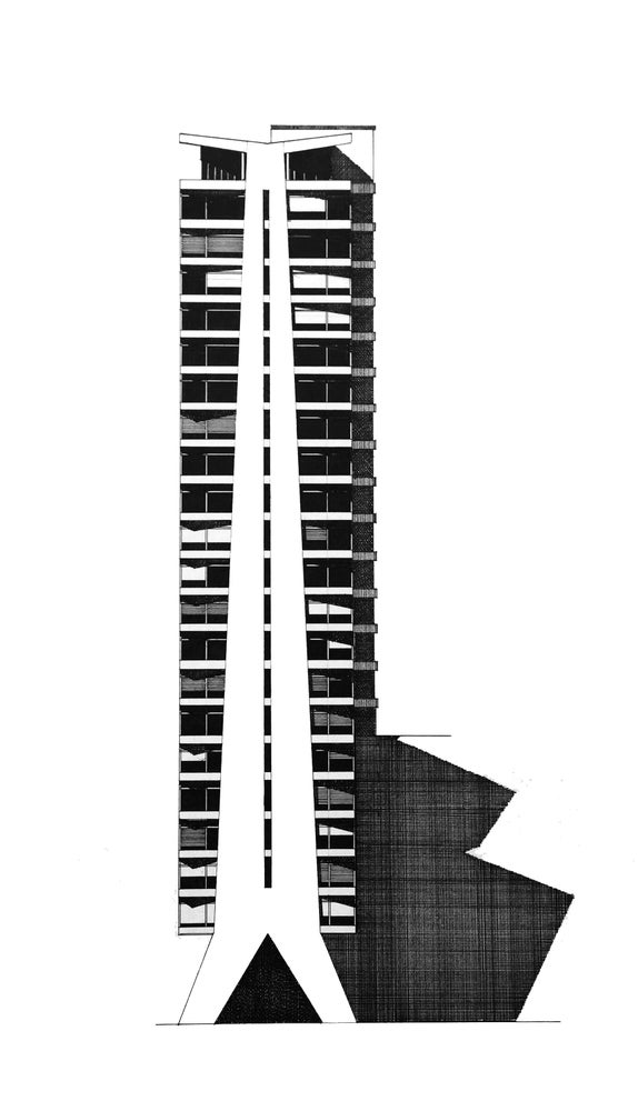 Image of Tolworth Tower (Original)