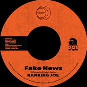 "Image of Fake News/Dub News - Ranking Joe/Jamtone (New UK Roots 7"" vinyl)"