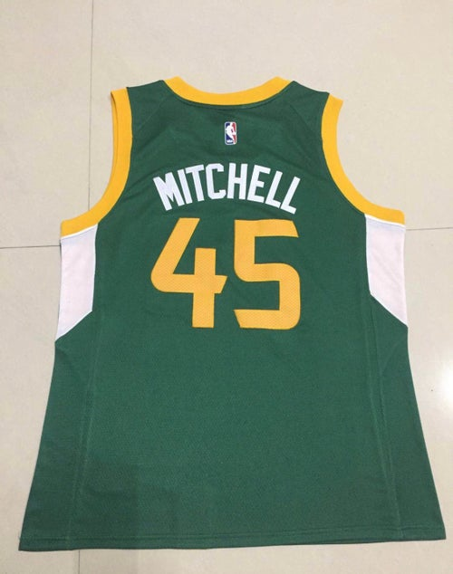Image of Donovan Mitchell Utah Jazz city Jersey