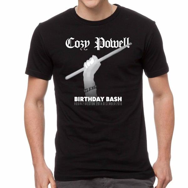 Image of Cozy Powell Birthday Bash T-Shirt