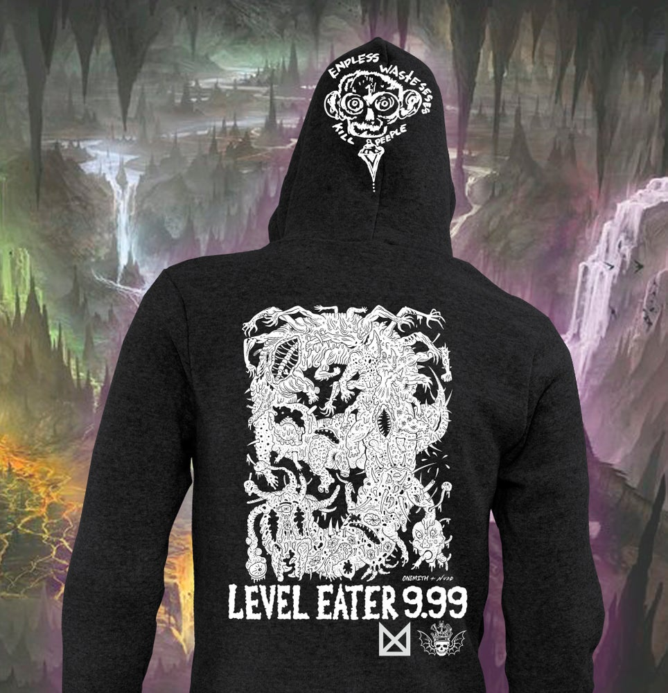 Image of Level Eater 9.99 Hoodie ( Pick Up Only! at Co-Prosperity Sphere )