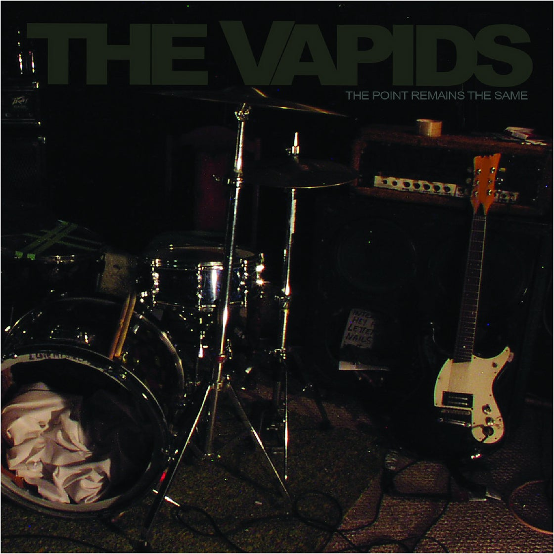 """Image of THE VAPIDS - THE POINT REMAINS THE SAME (12"""")"""