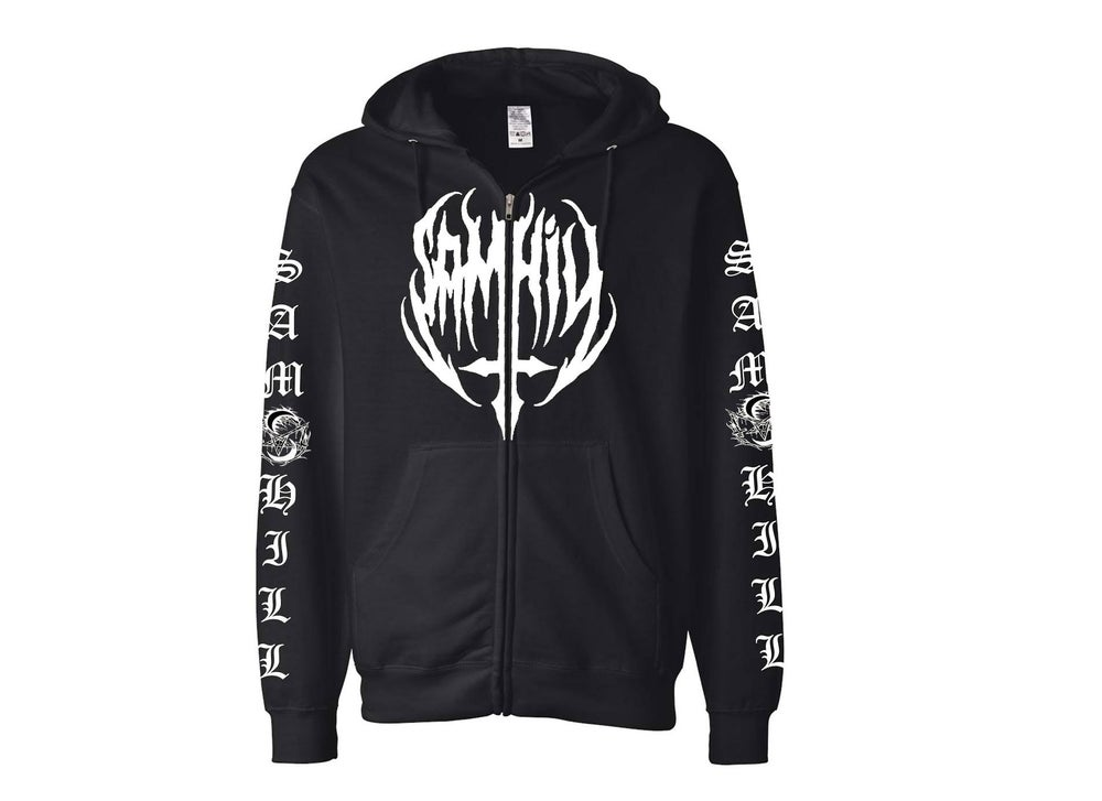 Image of Sam Hill Hoody Black/White