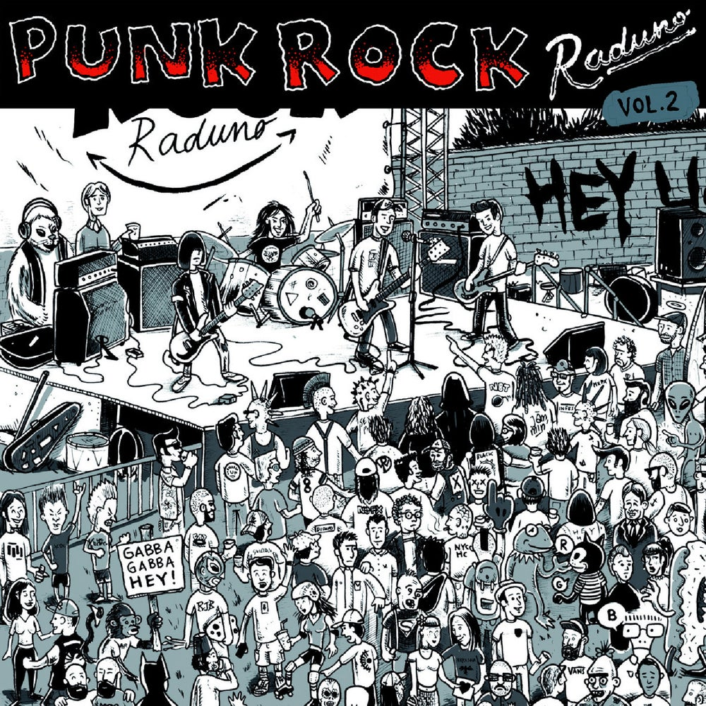 "Image of Punk Rock Raduno Vol. 2 (12"")"