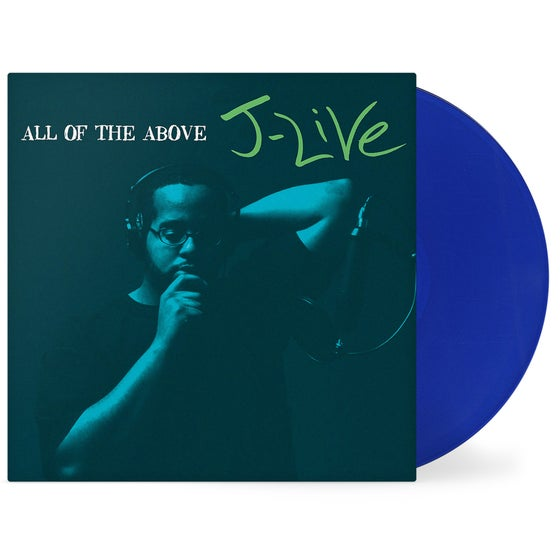 Image of All Of The Above (Signed) 2xLP Blue Vinyl (Pre Order)(4/2/19)