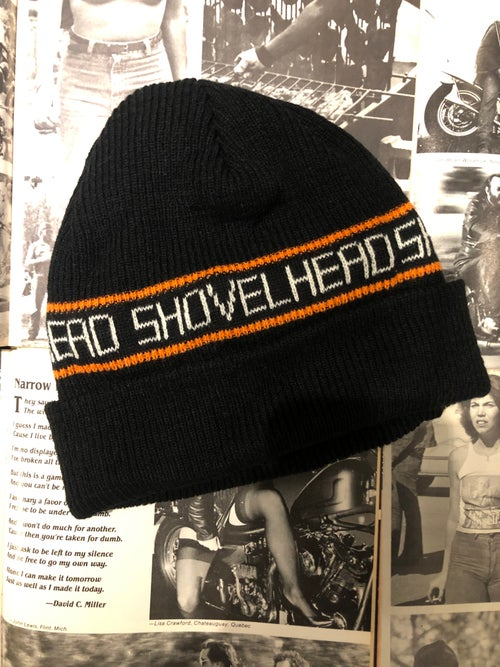 Image of HD Engine Beanie LAST ONE - PANHEAD