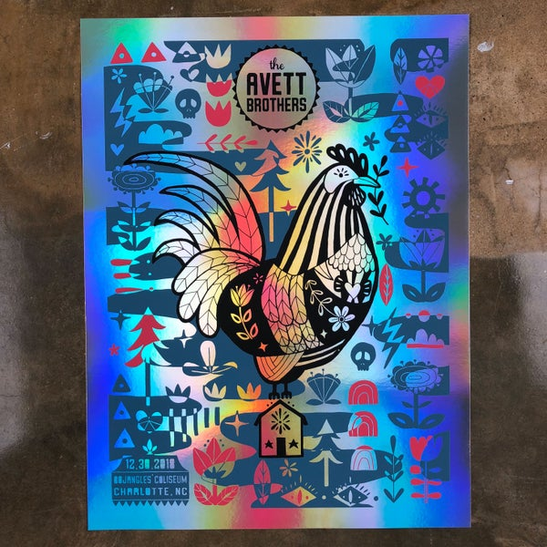 Image of The Avett Brothers NYE 2018 VIP *Night 1* FOIL