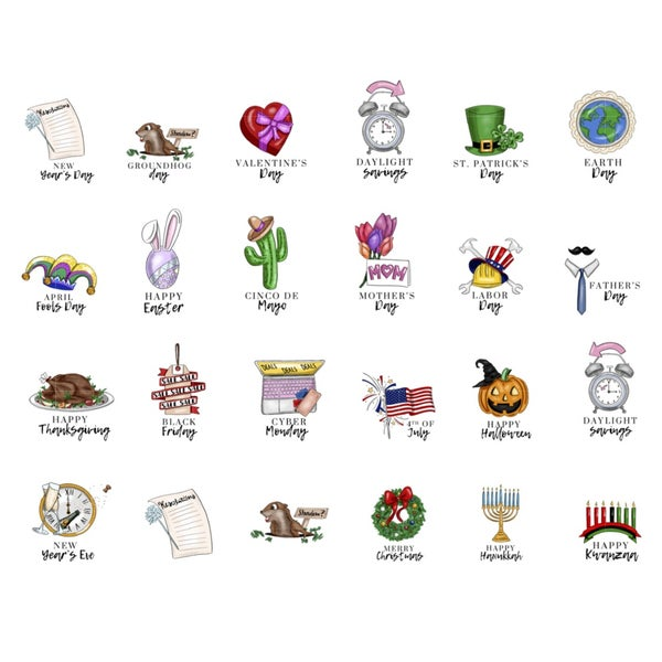 Image of Holiday Icons