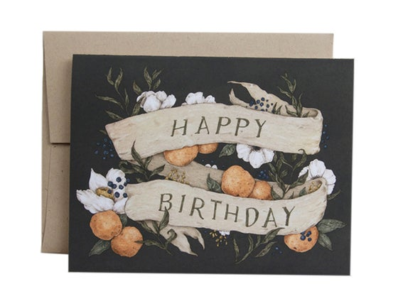 Image of Happy Birthday Card
