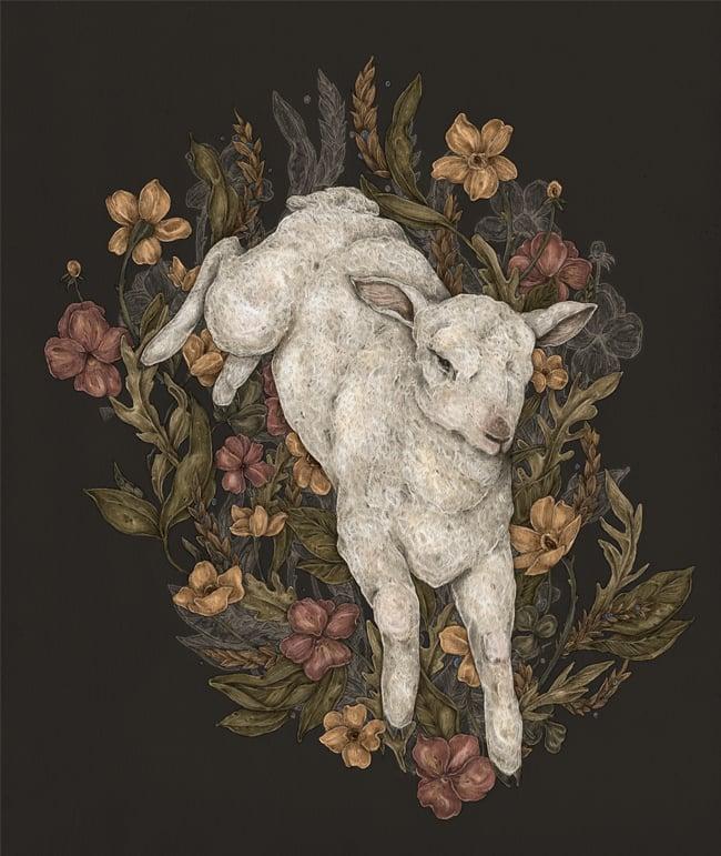 Image of Lamb Print