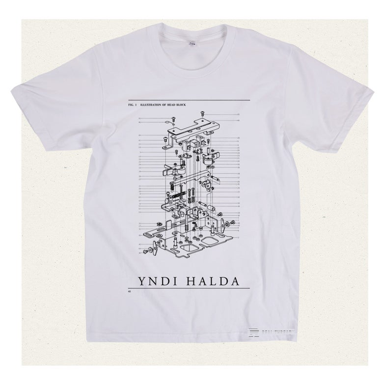 Image of yndi halda - mechanics t-shirt