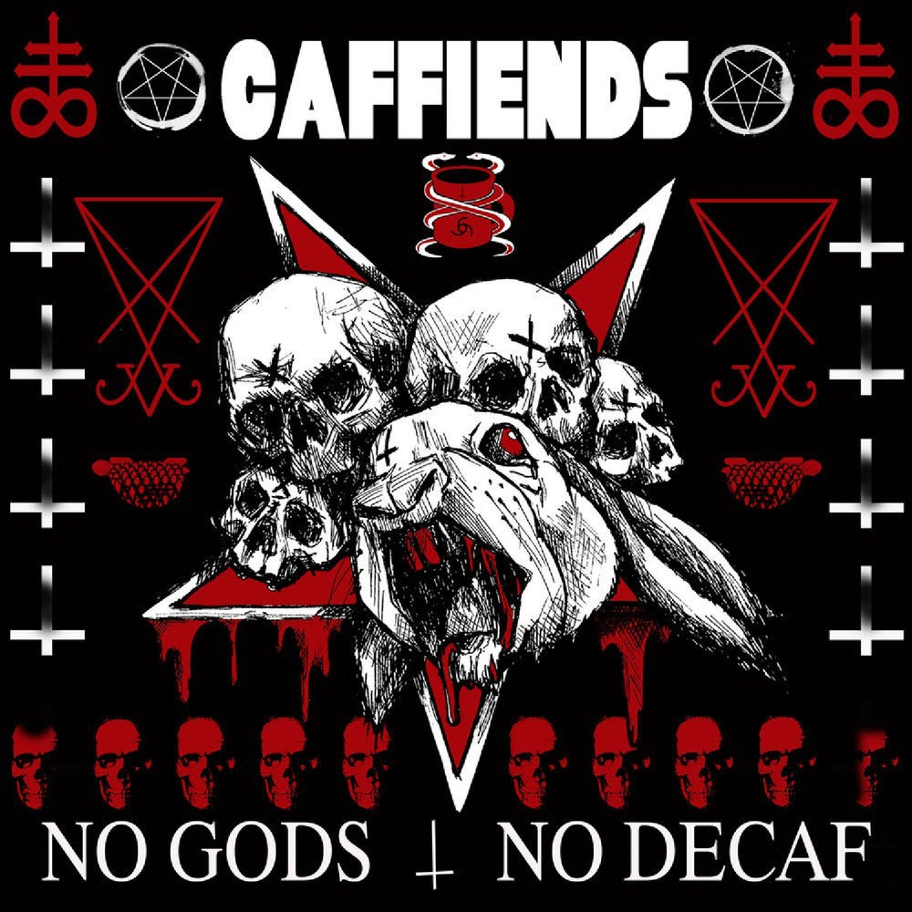 "Image of Caffiends - No Gods No Decaf (12"")"