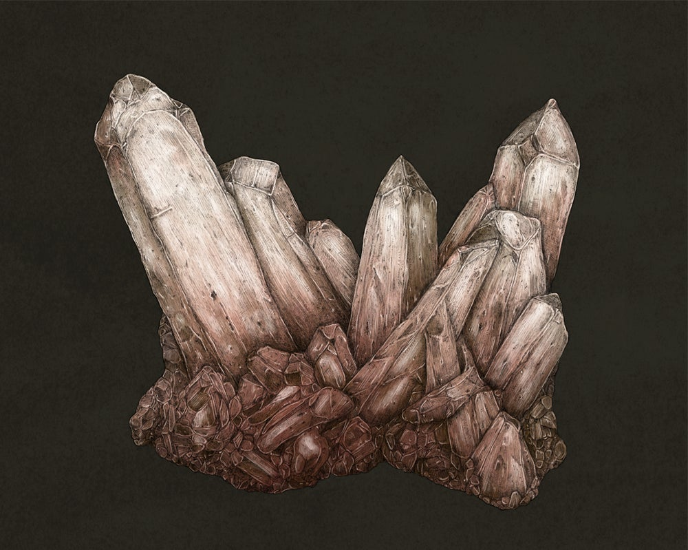 Image of Pink Quartz Print