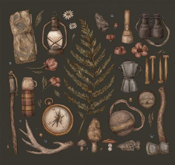 Image of Wander Print