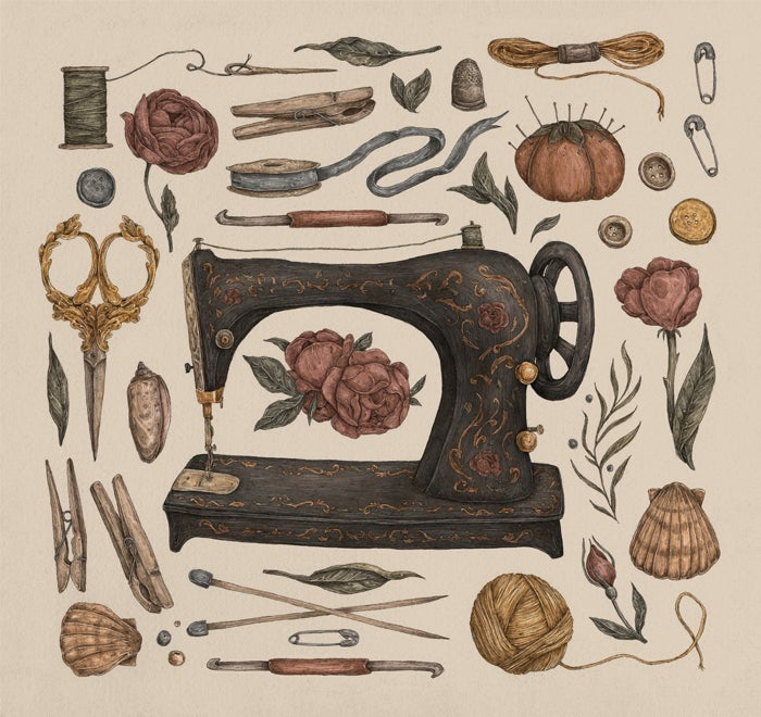 Image of Sewing Collection Print