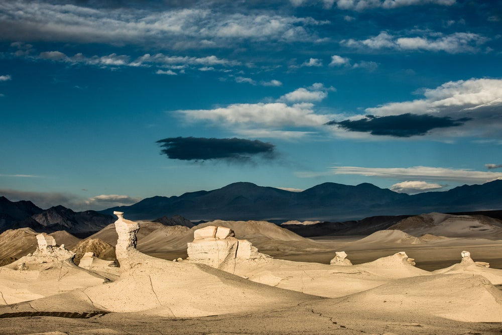 Image of Featured Landscape: PUMICE FIELD VISTA AGAINST VOLCANIC HILLS, NO. 2731