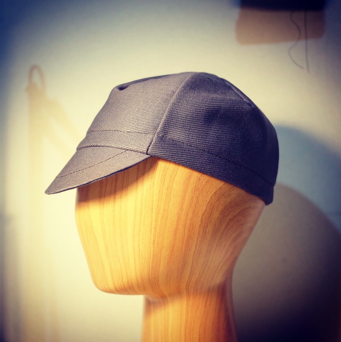 Image of Cavalry twill wool cycling cap