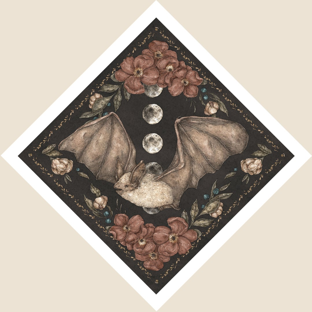 Image of Bat Print