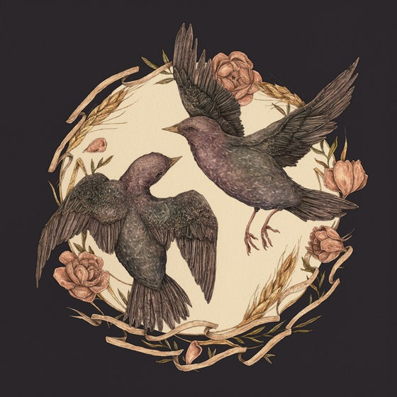 Image of Starlings Print