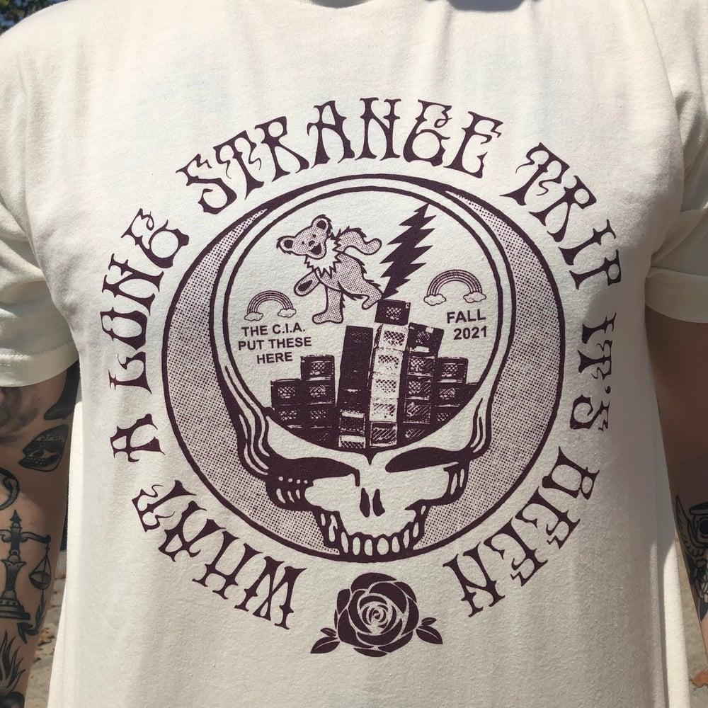 Image of Crateful Dead - Natural tshirt