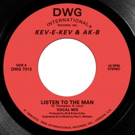Image of Kev-E-Kev & Ak-B 'Listen To The Man'/'Keep On Doin' 7""