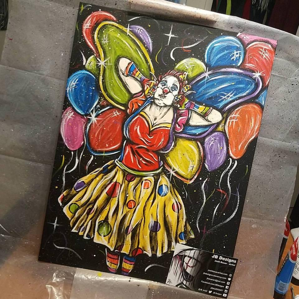 "Image of ""Clown Fairy"""