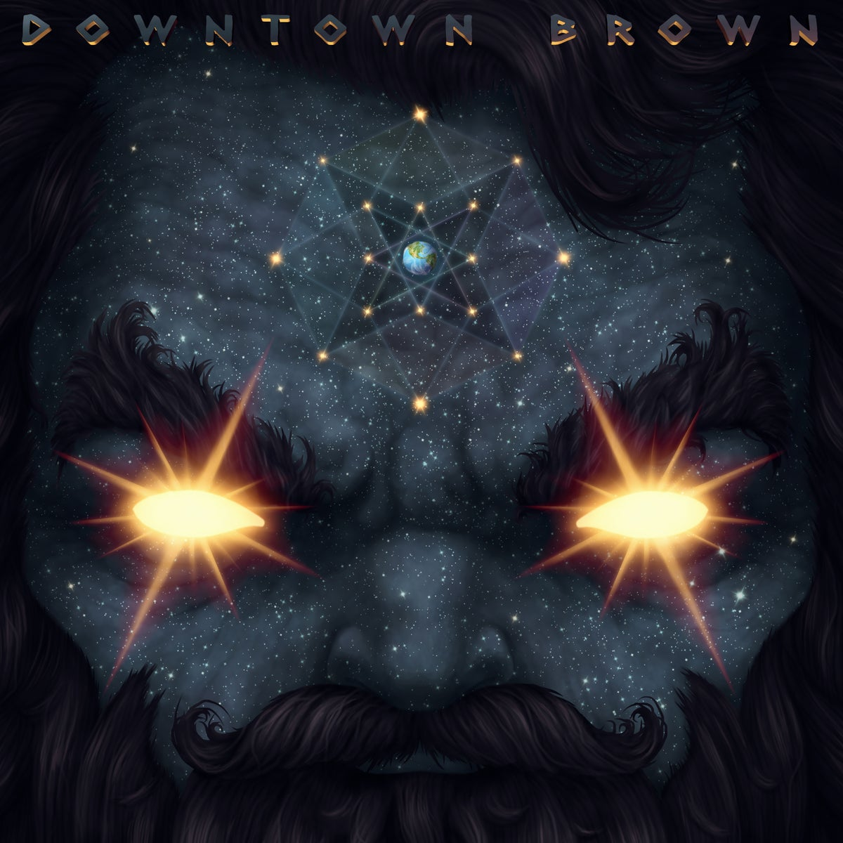 Image of Downtown Brown 'Masterz of the Universe' 12 inch Vinyl (2013)