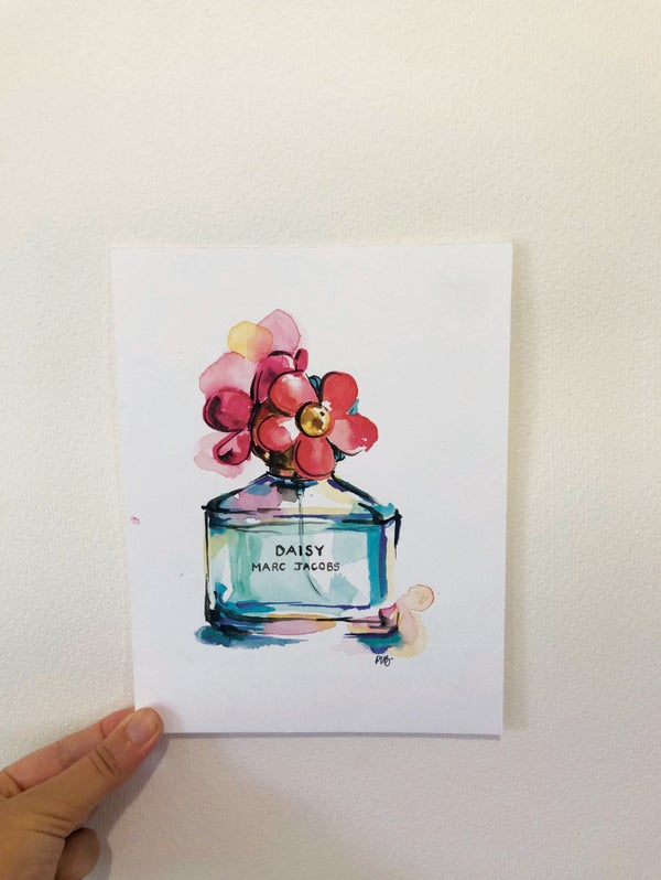 Image of Daisy by Marc Jacob's Perfume Original Artwork