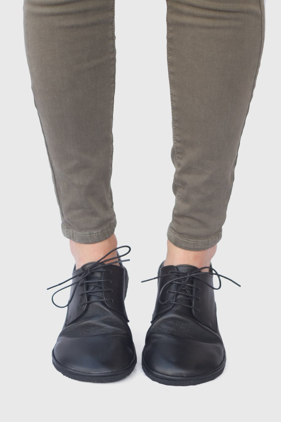 Image of Plain Toe Derby in Matte Black
