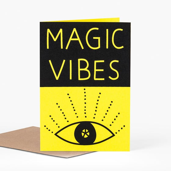 Image of Magic Vibes Card