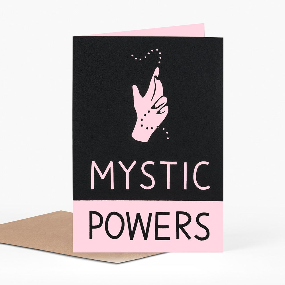 Image of Mystic Powers Card