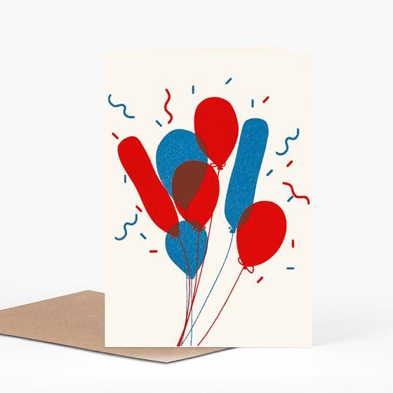 Image of Bunch 'o Balloons card