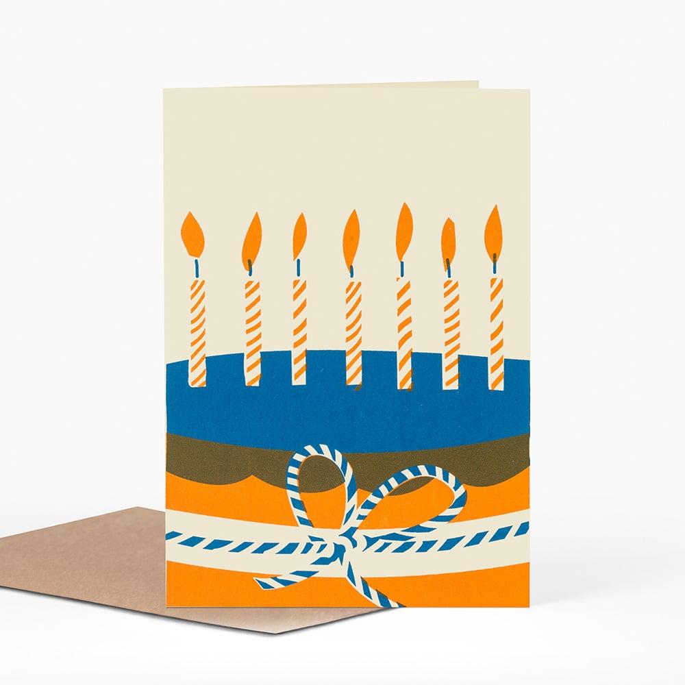 Image of BIG CAKE Greetings Card