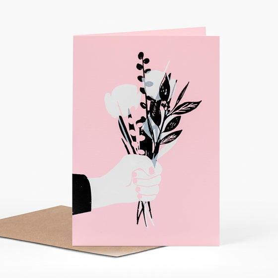 Image of Perfect Posy card