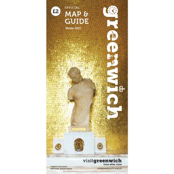 Image of Greenwich Map & Guide: January - March 2019