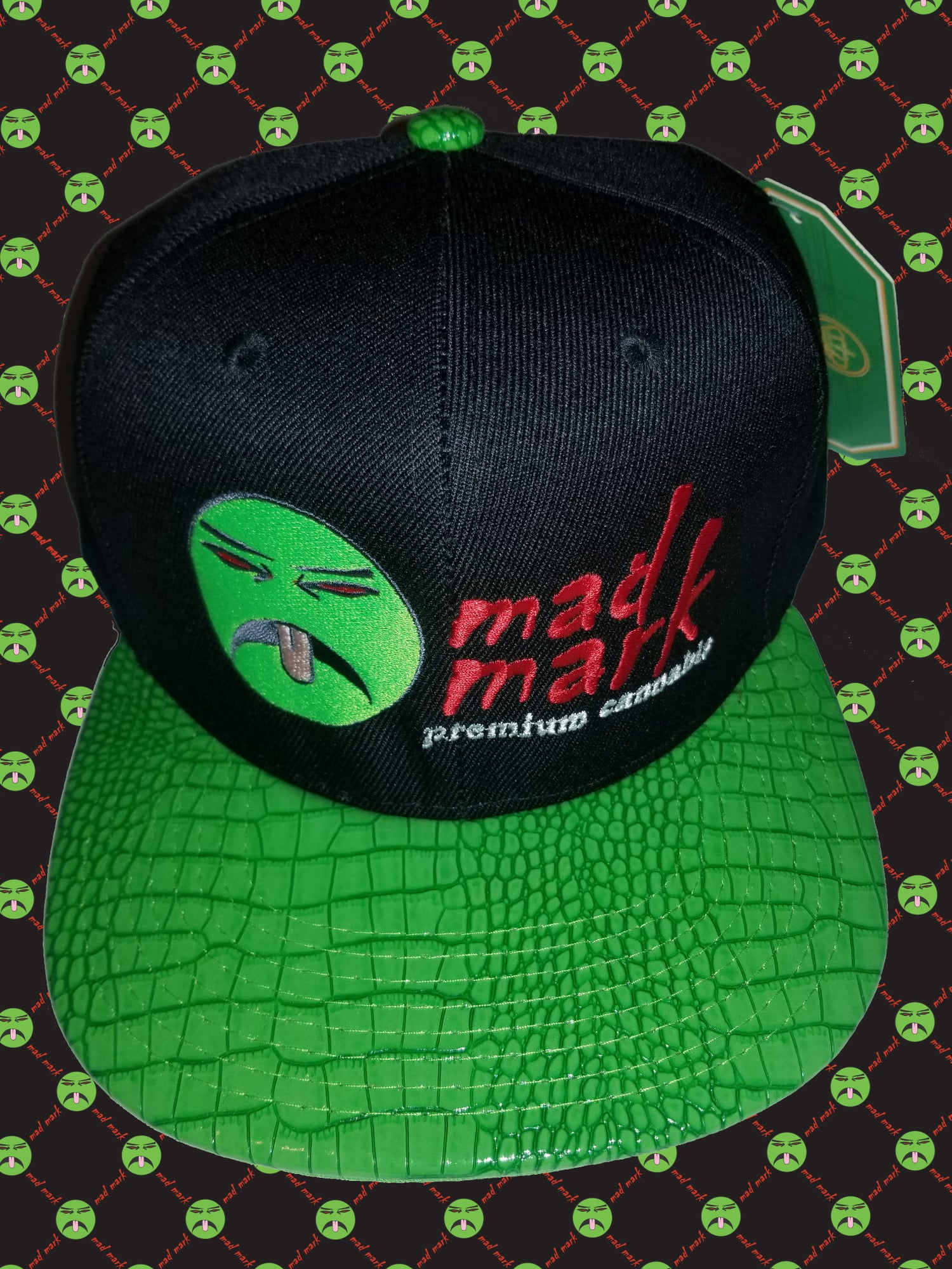Image of embroidered snapback