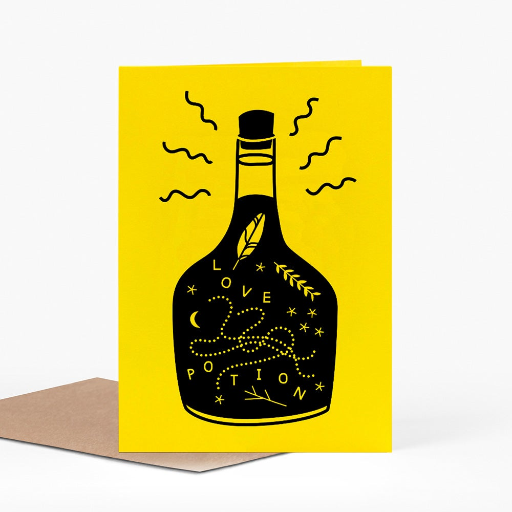 Image of Love Potion card