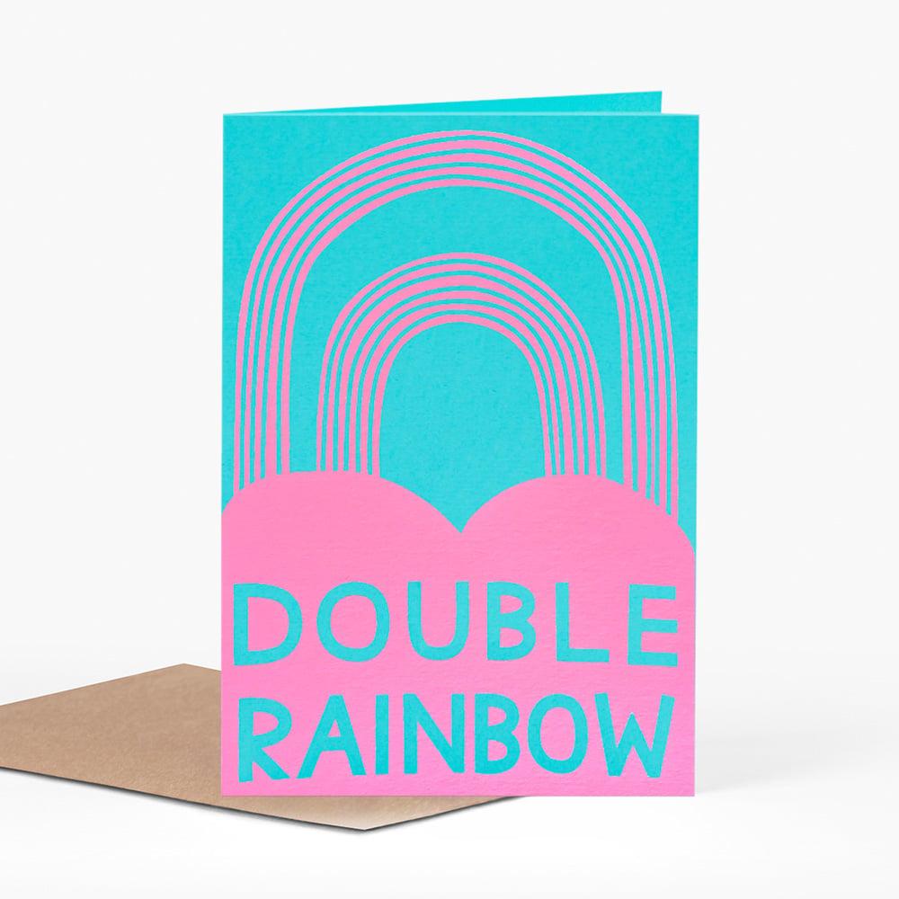 Image of Double Rainbow Card