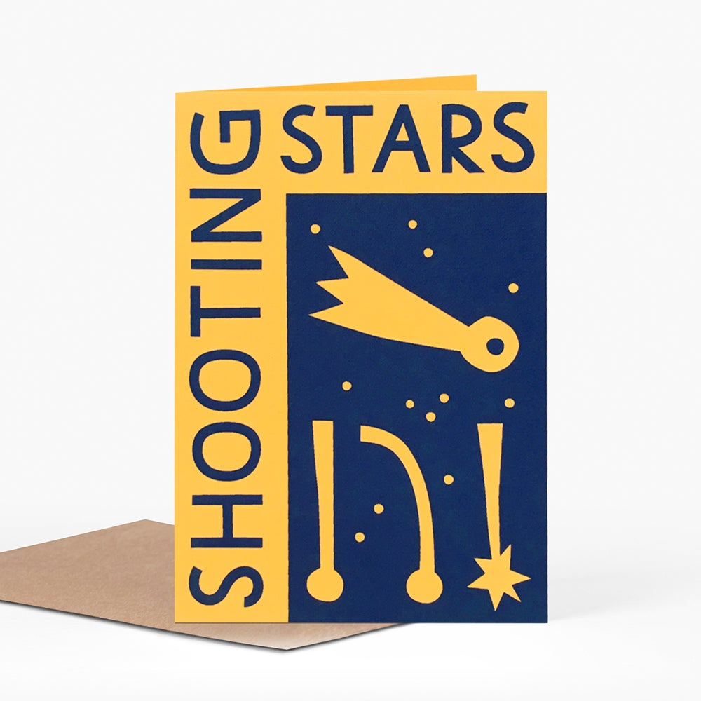 Image of Shooting Stars Card