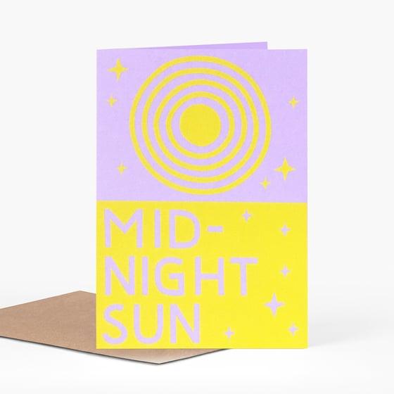 Image of Midnight Sun Card