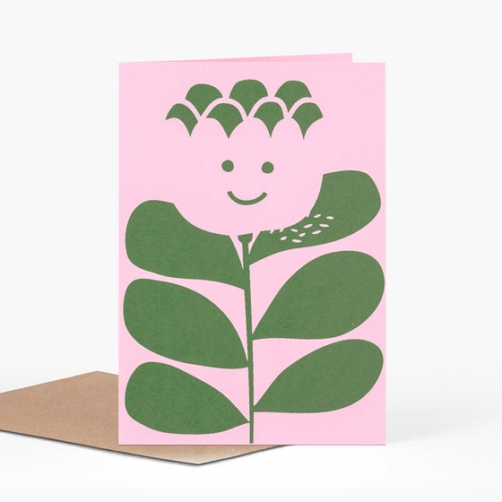 Image of Friendly Flower Card