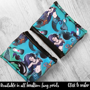 Image of Hoodlum Fang Pole Dance Knee Pads (choice of fabrics)