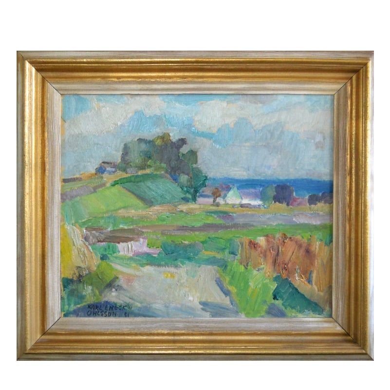 Image of 1951, Sea View, Lomma Landscape, Karl Enock Ohlsonn